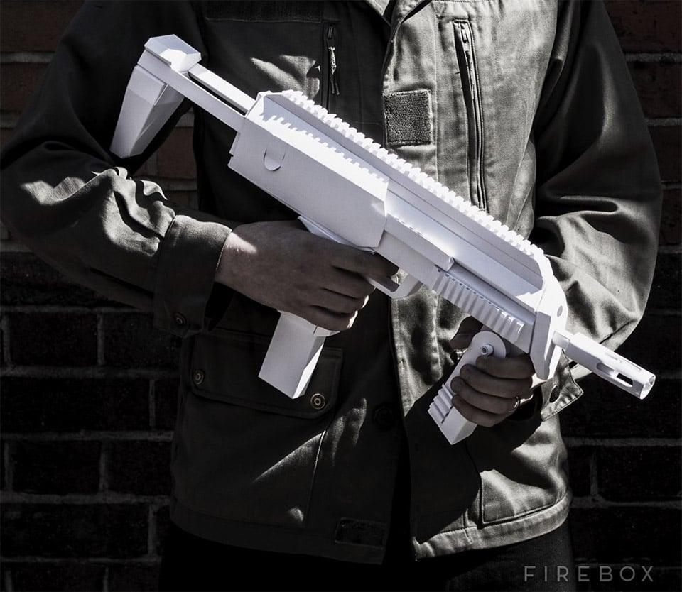 Paper Submachine Gun Kit