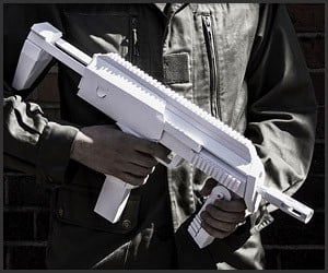 Paper Submachine Gun Kit