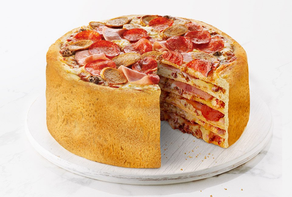 The Pizza Cake