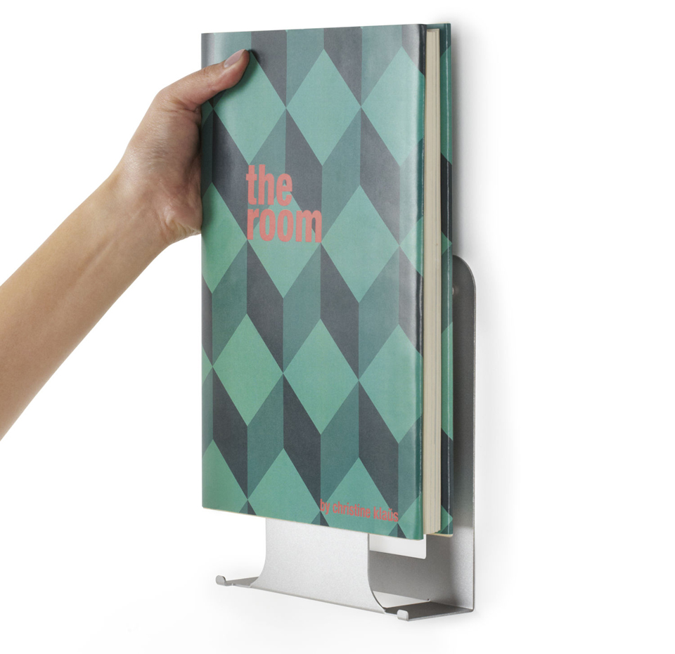 Umbra conceal vertical display the awesomer - Estantes para libros ...