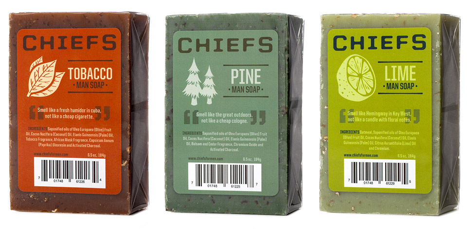 Chiefs Man Soap