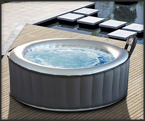 Silver Cloud Inflatable Hot Tub