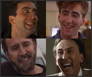Every Single Nic Cage Laugh