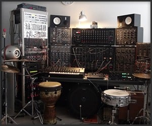 Robot Drums with Synths