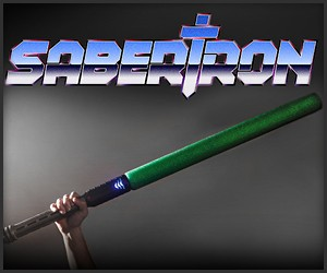 Sabertron Electronic Foam Swords