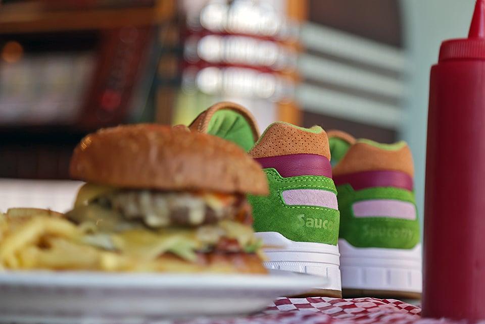 Saucony x END. Burger