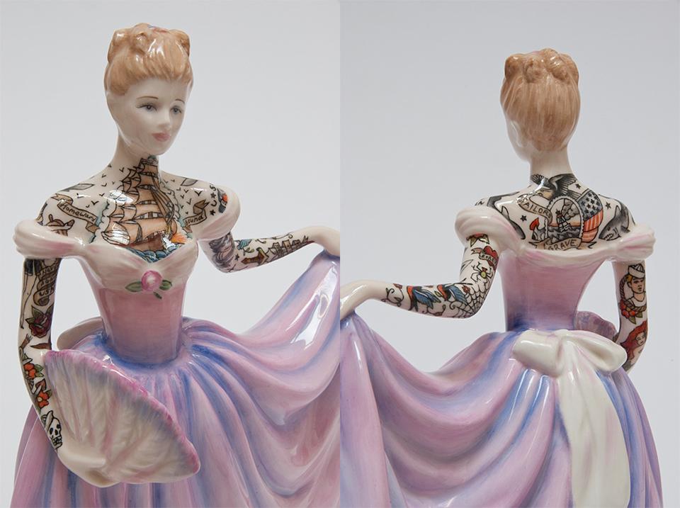 Tattooed Figurines