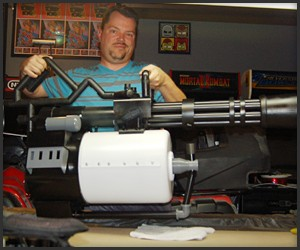 TF 2 Heavy Minigun Replica