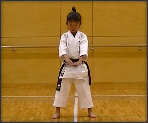 The 7-Year-Old Black Belt