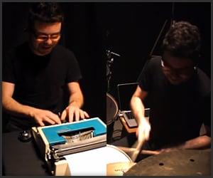 The Typewriter Drum Cover