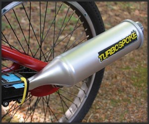 Turbospoke Bicycle Exhaust Pipe