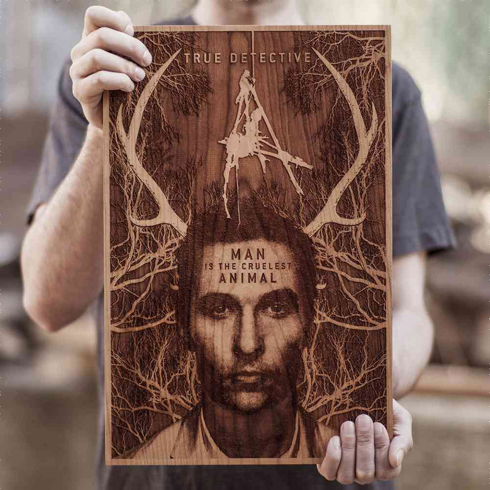 Laser-Cut Movie Posters