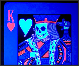 Black Light Playing Cards