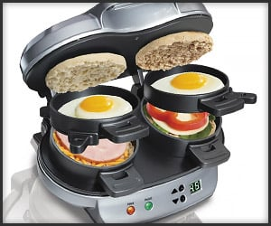 Dual Breakfast Sandwich Maker