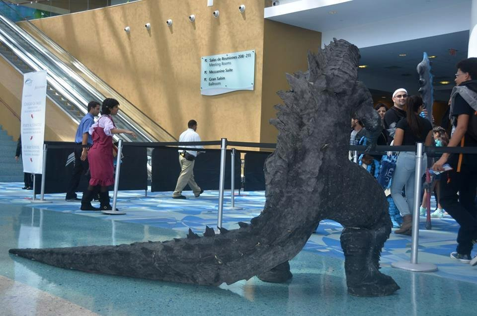 The Ultimate Godzilla Cosplay