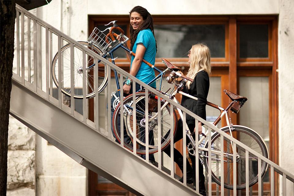 Bike Frame Handle