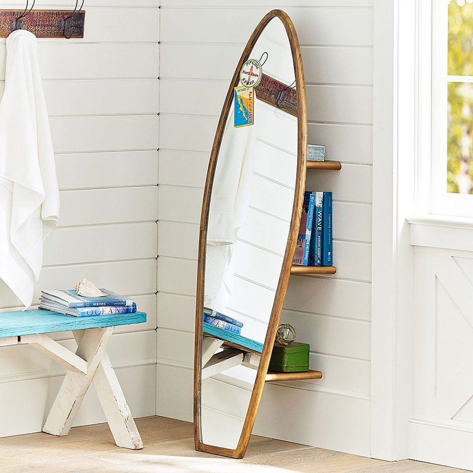 Surfboard Storage Mirror The Awesomer
