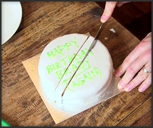 The Scientific Way to Cut a Cake