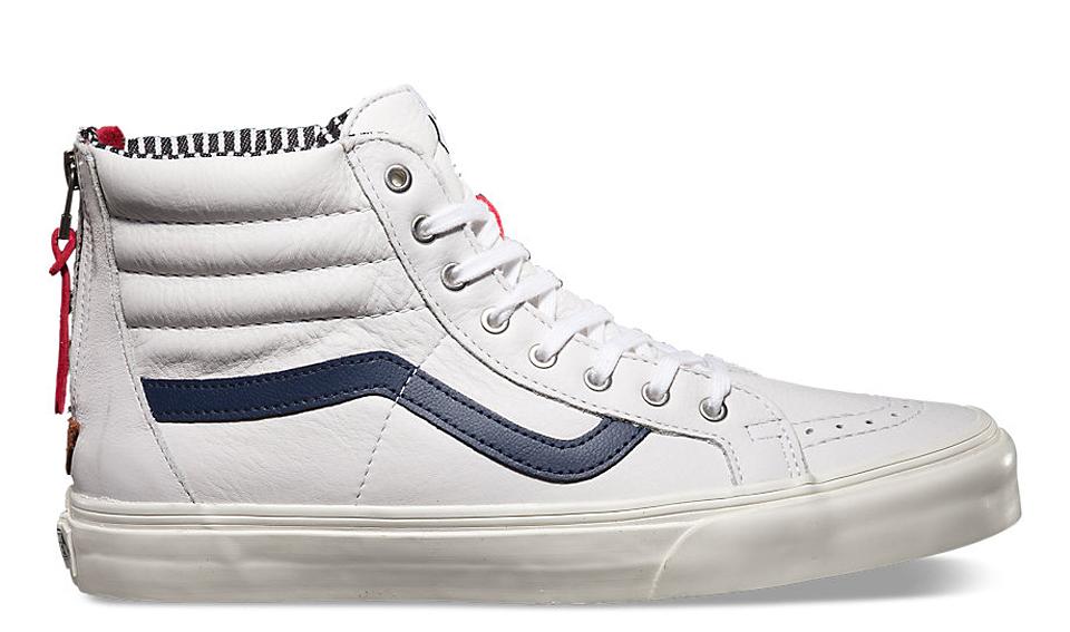 Vans White Series