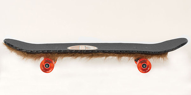 Weird Beard Skateboard