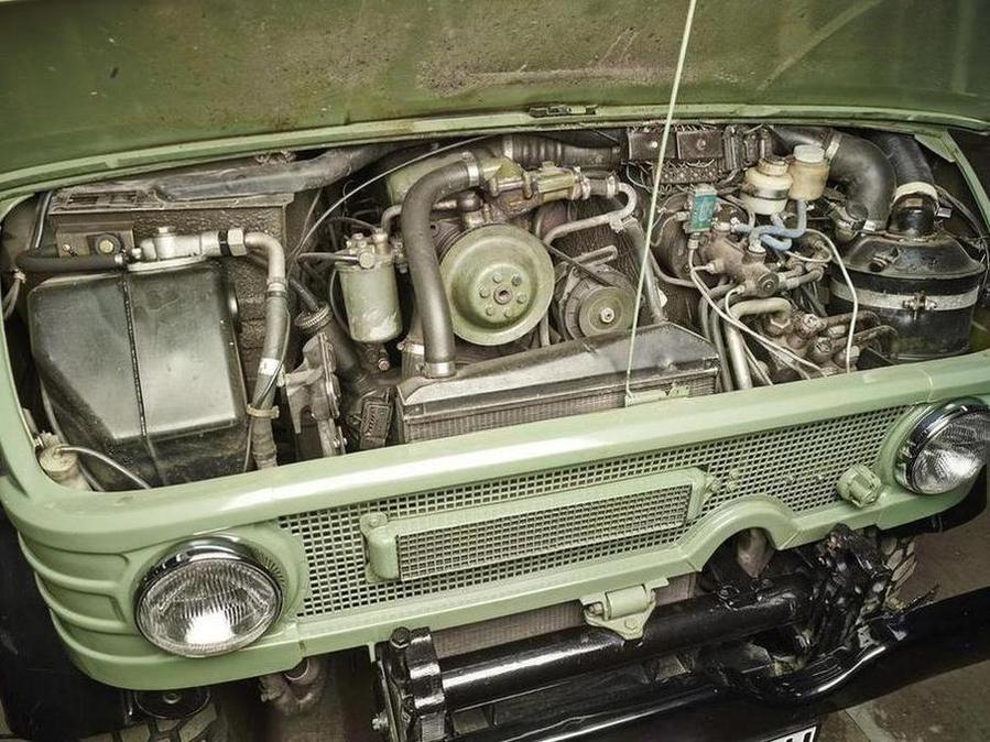 '76 MB Unimog 406 Doppelkabine