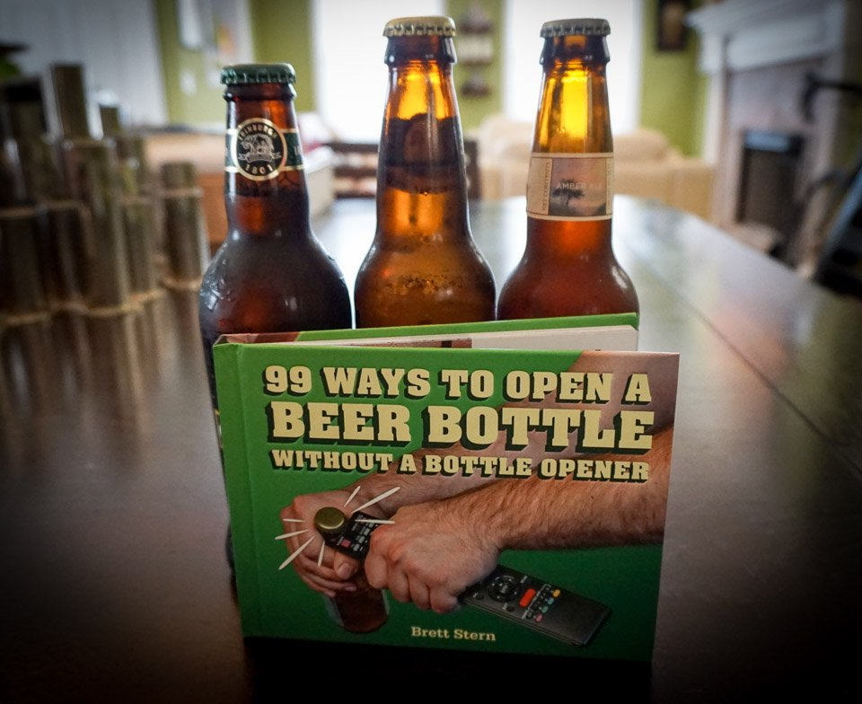 99 Ways to Open a Beer Bottle…