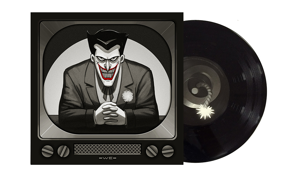 Batman Animated Series 7″ Vinyl