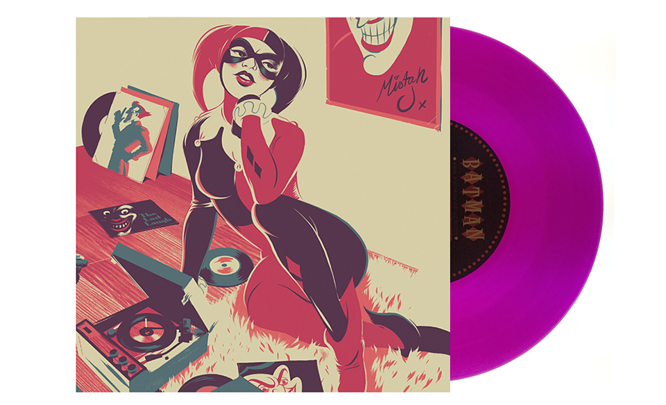 Batman Animated Series 7″ Vinyl