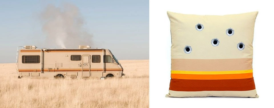 Breaking Bad Couch Cushion