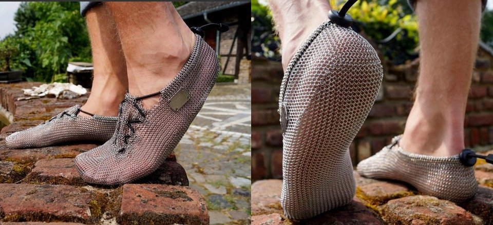 Chainmaille Shoes