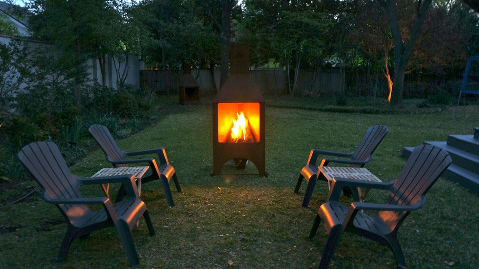 Chimney Box Fire Pit