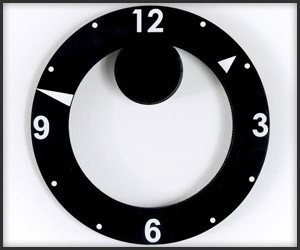ChronoDisc Wall Clock