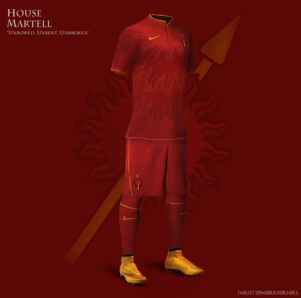 Game of Thrones Soccer Jerseys