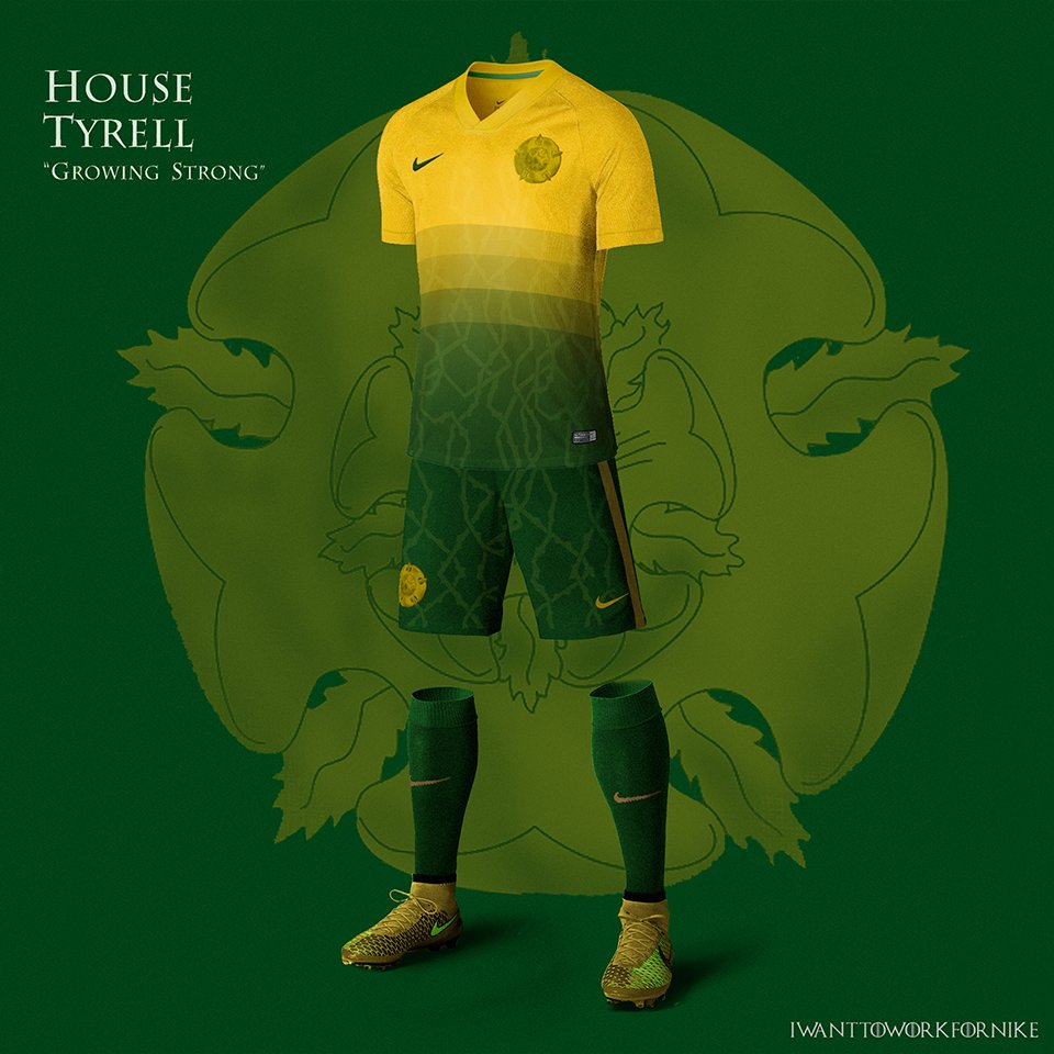 Game of Thrones Soccer Jerseys - The Awesomer
