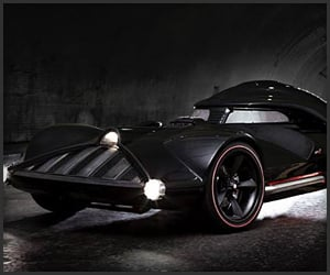 Hot Wheels Darth Vader Car