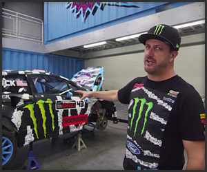 Ken Block at Hoonigan Racing HQ