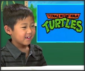Kids React to TMNT