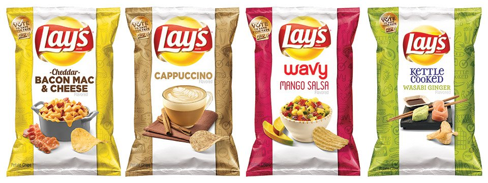 Lay's Do Us a Flavor: Finalists