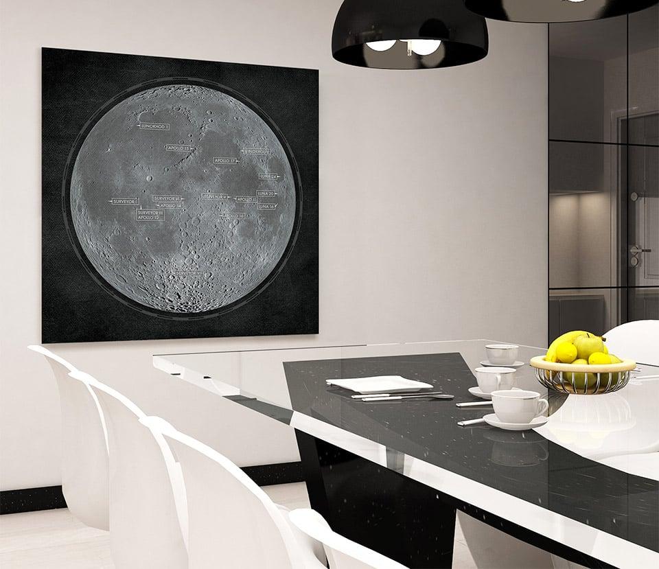 Lunar Landings Print