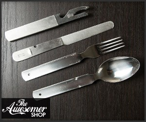 Military Surplus Utensil Set