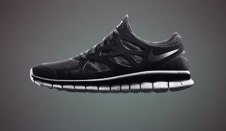 Nike Free Genealogy in Black
