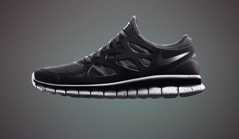 Nike Free Genealogy in Black