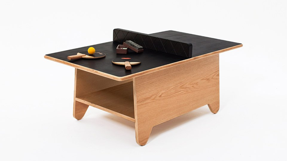 Ping Pong Coffee Table The Awesomer