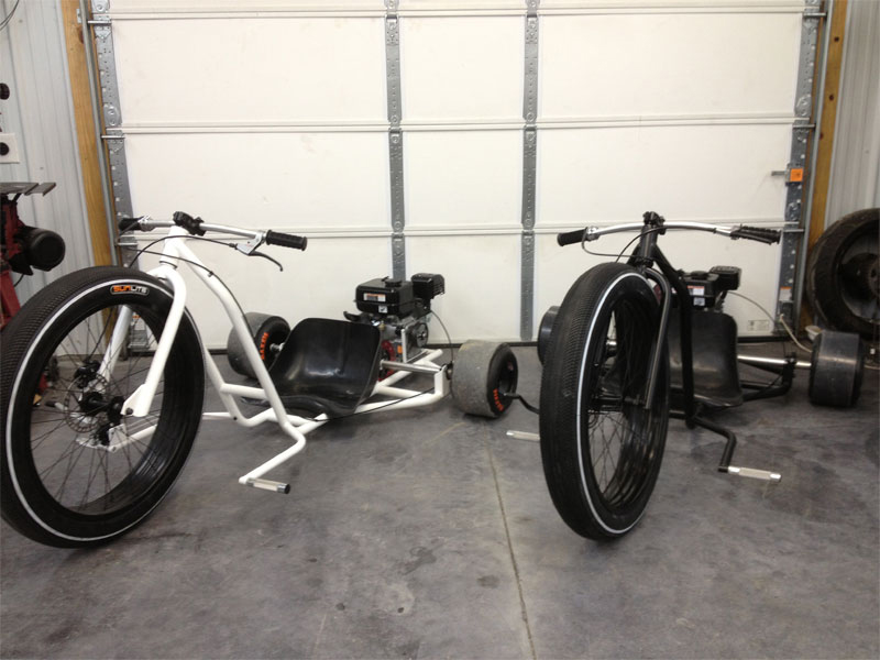 SFD Big Wheel Drift Trike