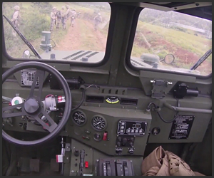 US Marines Self-Driving Car