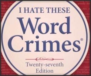 Weird Al: Word Crimes