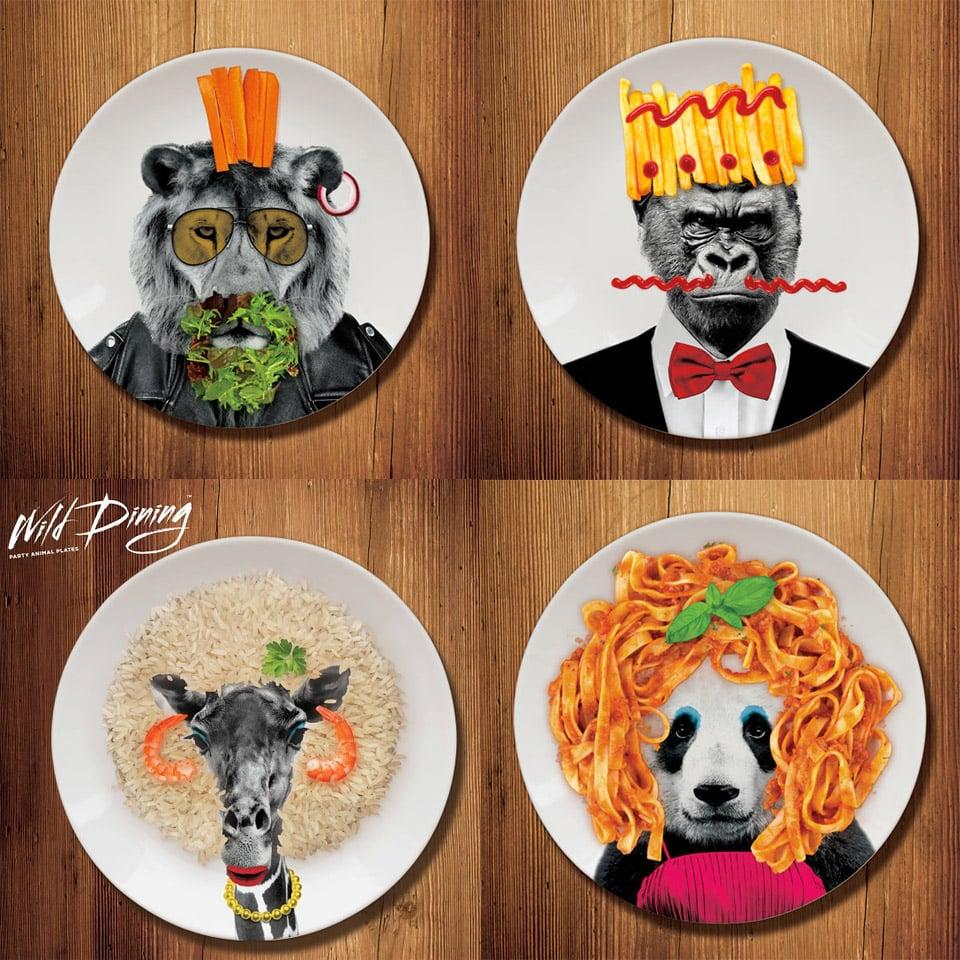Wild Dining Plates
