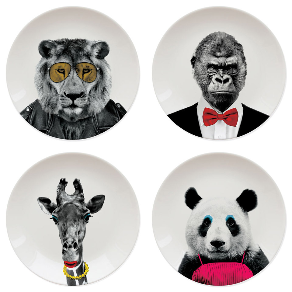 Wild Dining Plates The Awesomer