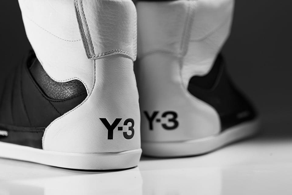 Y-3 Honja High B&W