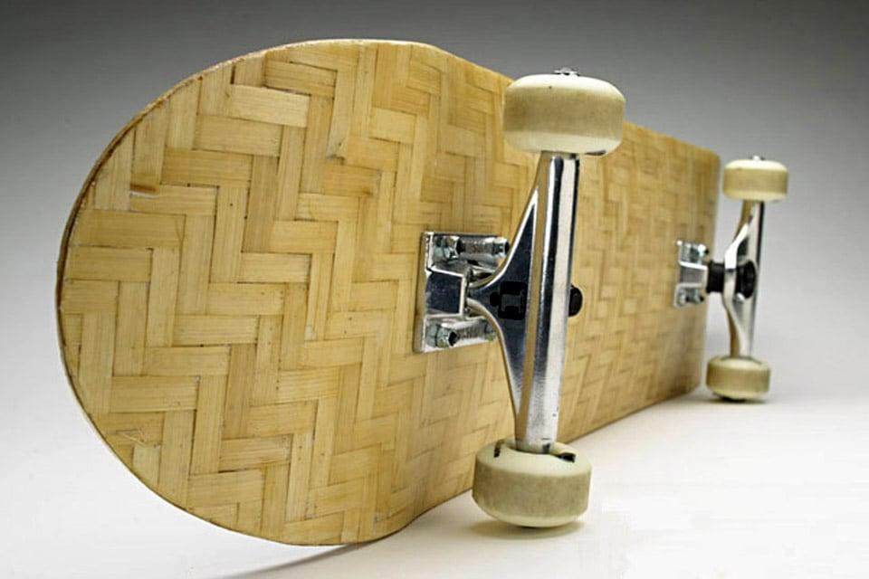 Beacon Alley Bamboo Skateboards